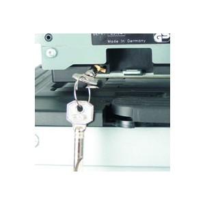 Sicherheitsschloss für Modell 880 Textplatte
