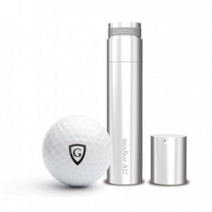 Golfballstempel Box mit Gutschein AG12