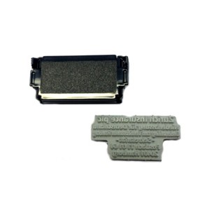 Textplatten-Set für Stempel Dormy Imprint 3