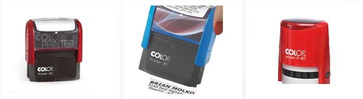 38x14 mm - 4 Zeilen mit individueller Textplatte Farbe Schwarz Stempel Colop Printer C20 custom